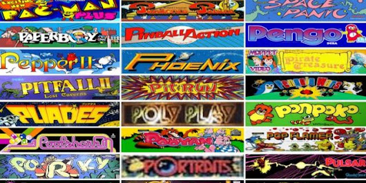 Internet Arcade Offers Over 900 Classic Arcade Games To Play Online