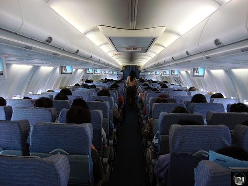 Airtravel Photos China Airlines 737 800 Economy Class Cabin