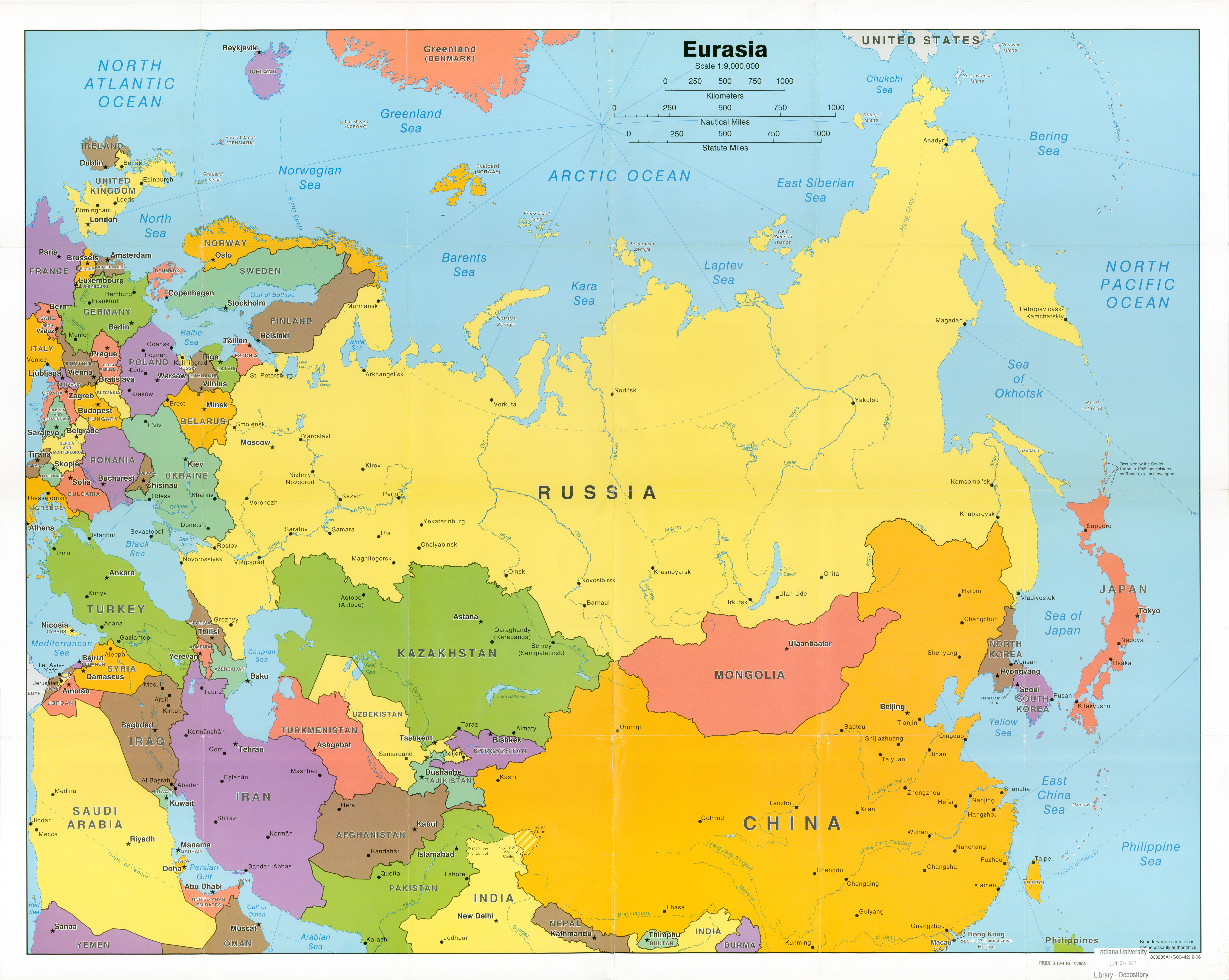 Blank Map Ussr Countries