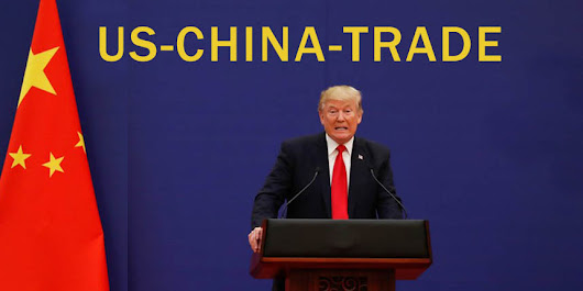 US Doing Well in Trade Negotiations with China, Trump Says | Maza Inside