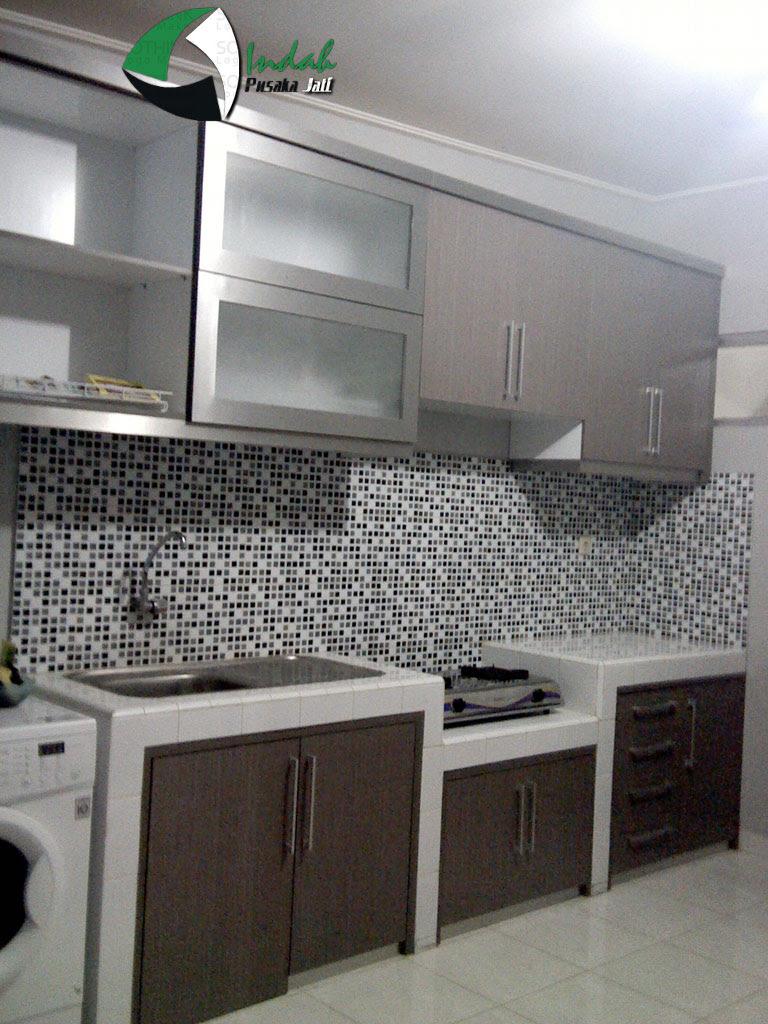 Desain Dapur Minimalis Lurus Arsihome