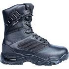 "Ridge Footwear Men's Ultimate Zipper 8"" Leather Boot Rip-Stop Nylon Waterproof"
