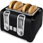 Black & Decker T4569B 4-Slice Toaster - Black