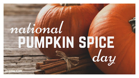 October 1st is National Pumpkin Spice Day!