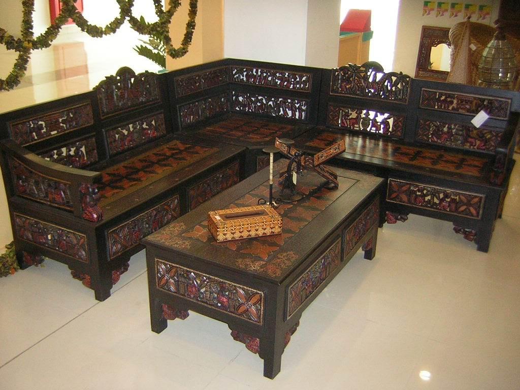 Furniture Kursi Tamu Kayu Jati Inspirasi Desain Rumah Dan