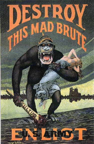 File:'Destroy this mad brute' WWI propaganda poster (US version).jpg