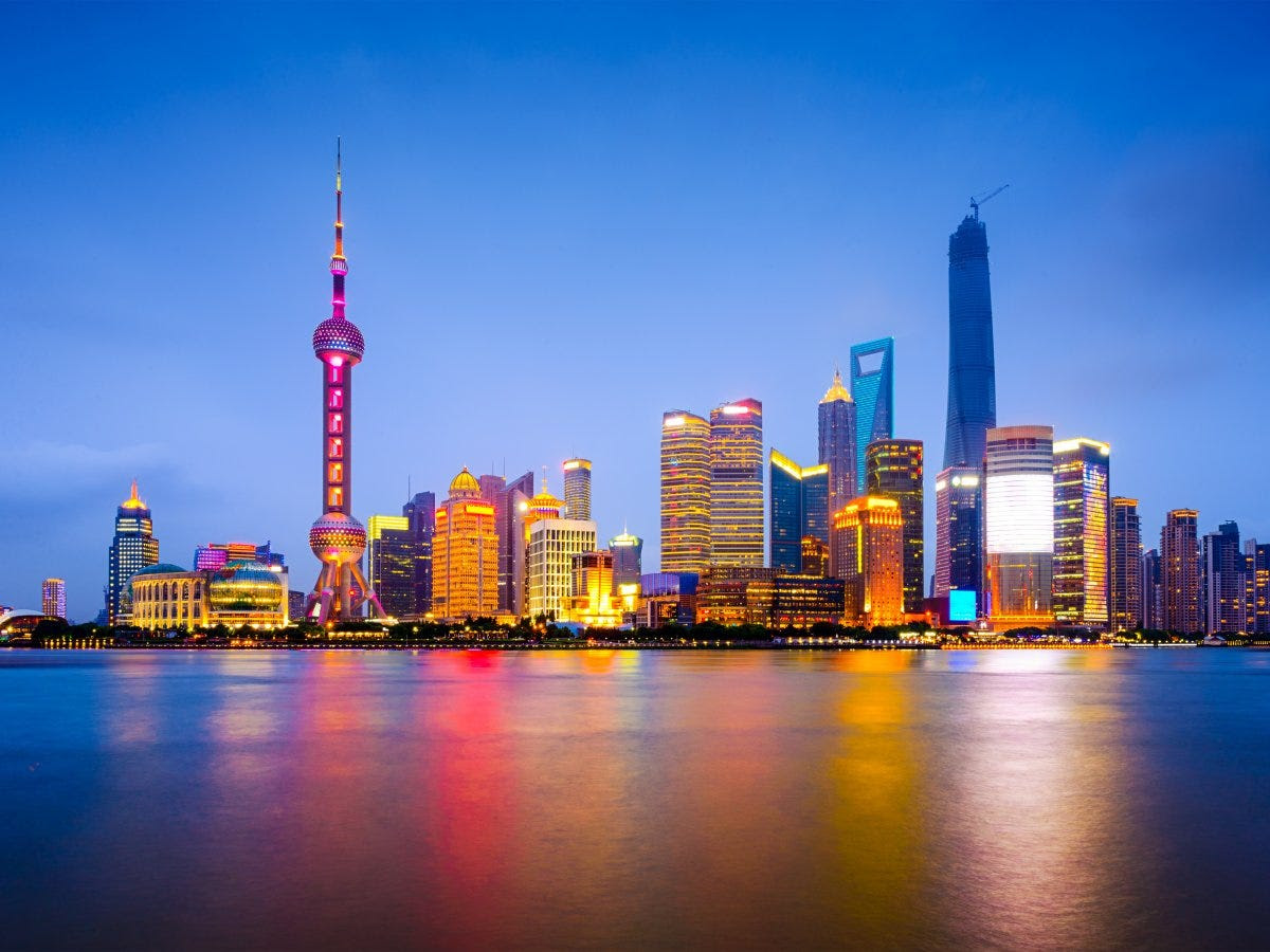 20. Shanghai, China: 6.39 million international visitors