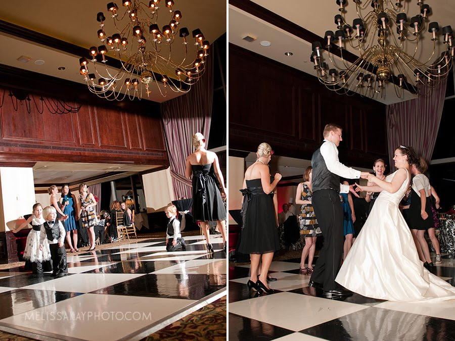 Posted in Cardinal Club Raleigh Wedding Planner Red White Black