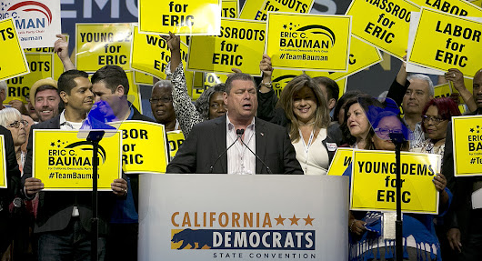 Bernie backers rage over Calif. Democratic Party chair race - POLITICO