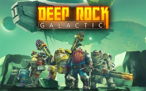 wallpaper deep rock galactic xbox  pc
