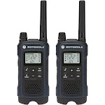 Motorola Talkabout T460 35-mile Two-way Radio Pair - Dark Blue - FRS/GMRS - 462-467 MHz - 7 NOAA Channels - Weatherproof
