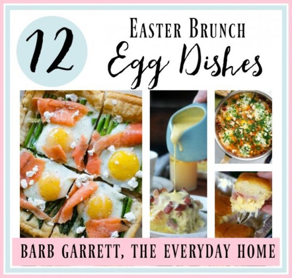 12 Easter Brunch Egg Dishes - The Everyday Home - HMLP 127 Feature
