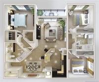 Small Home Design 3 Bedroom