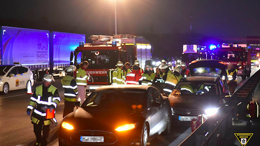 Heroic Driver Sacrifices His Tesla To Save Unconscious Man In Runaway Volkswagen