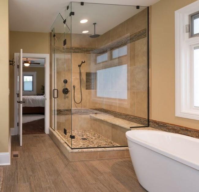 Goodbye Jetted Tub, Hello Custom Shower - HighCraft