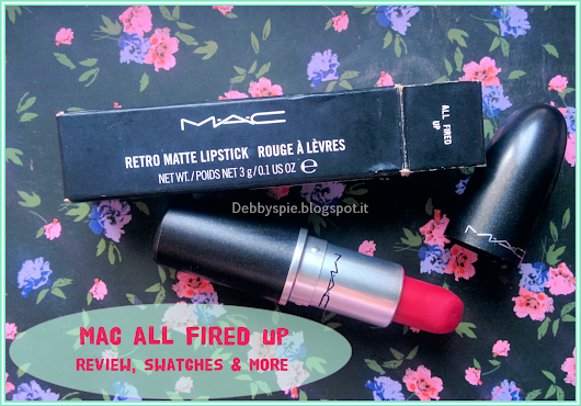 Mac Cosmetics All Fired Up. Review/Swatches/Comparison