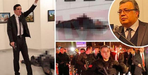 LIVE - Τουρκία: Τούρκος αστυνομικός σκότωσε τον Ρώσο πρέσβη στην Άγκυρα! Πληροφορίες για επίθεση και στην αμερικανική πρεσβεία