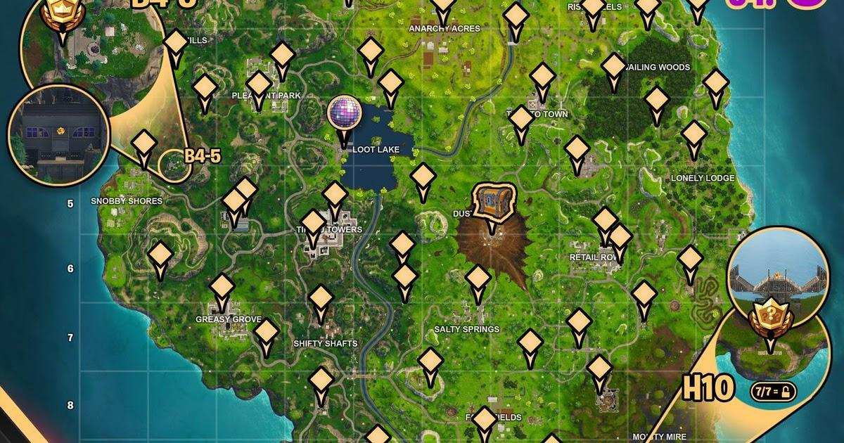 Fortnite Cheat Sheet Week 5   Fortnite Battle Royale Ios ...
