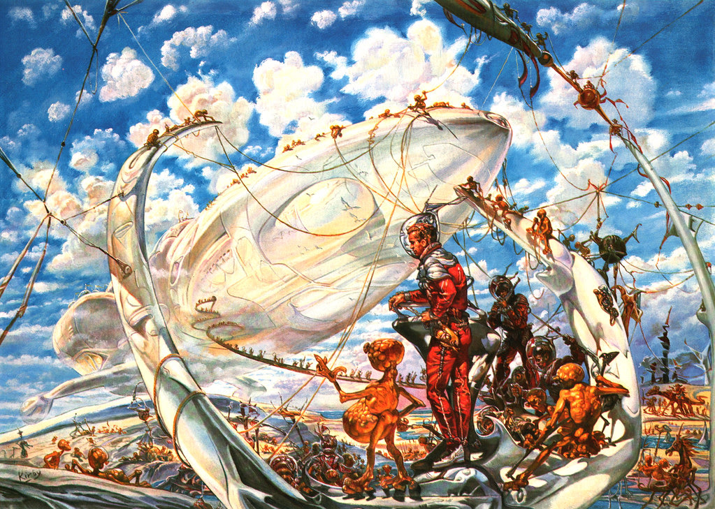 Josh Kirby - The Voyage Of The Ayeguy (Arrival Of The Ark) 1980