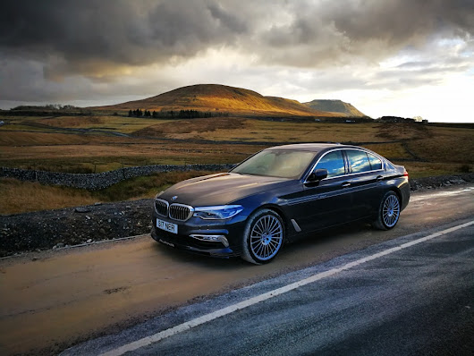 The Engineer Drives: Under the radar in the stealthy Alpina D5 S