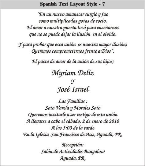 cinderella wedding invitations  spanish spanish text
