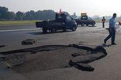 'Runway' Halim Mengelupas, Satu Penerbangan Haji Dialihkan ke Soekarno-Hatta