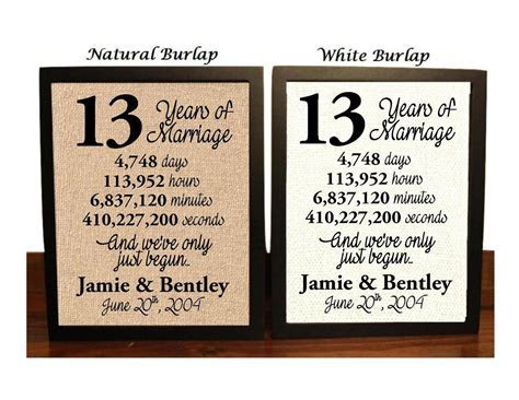 13th Wedding Anniversary 13 Year Wedding Anniversary 13th