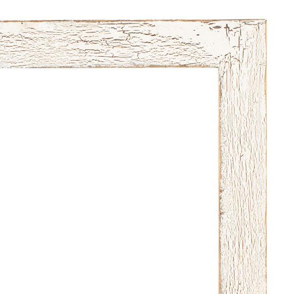 8x10 1 Painted Barnwood Frame White Wash Frames