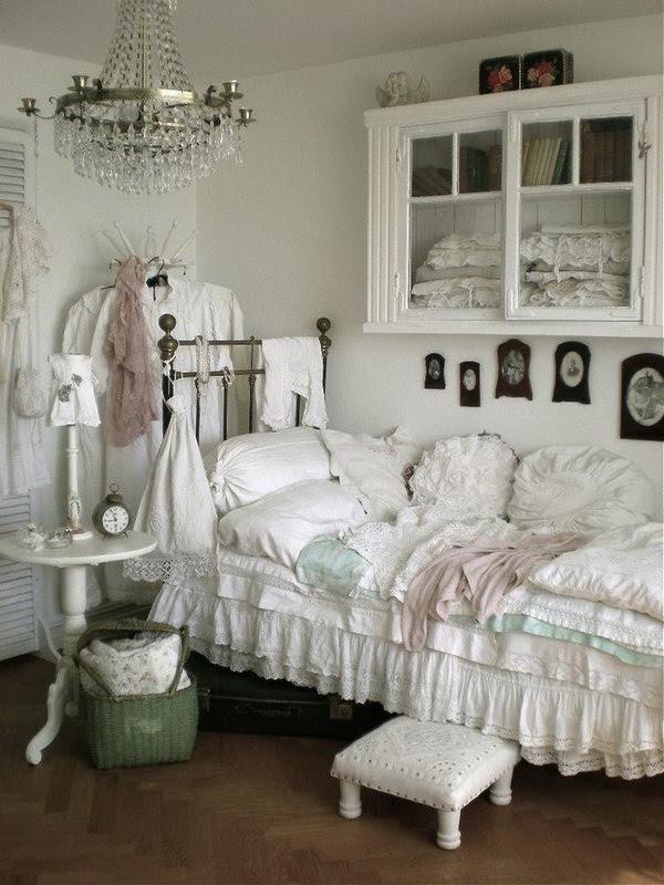 30 Cool iShabbyi iChici Bedroom iDecoratingi iIdeasi For