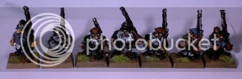 Metal Dwarf Thunderers