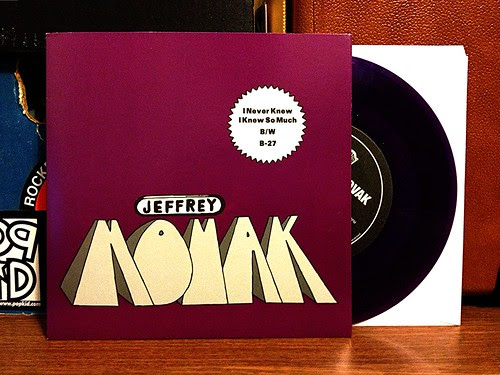 "Jeffrey Novak - I Never Knew So Much 7"" - Purple Vinyl by Tim PopKid"