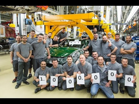 The one-millionth 911 rolls off the production line – Behind The Scenes.