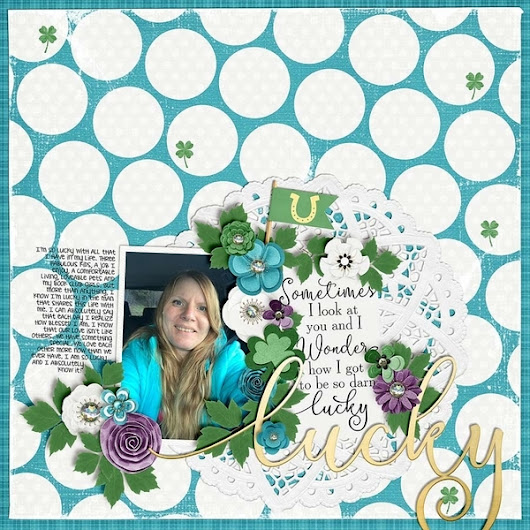 Immagine: 6 Scrapbook Layout Ideas for St. Patrick's Day – Scrap Booking
