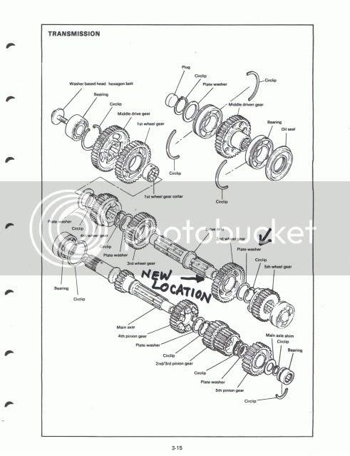 Engine Transmission Diagram