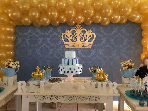 decoracao festa rei arthur:REI ARTHUR, DECORAÇÃO PERSONALIZADA ARTHUR FEZ 2 ANINHOS E A MAMÃE