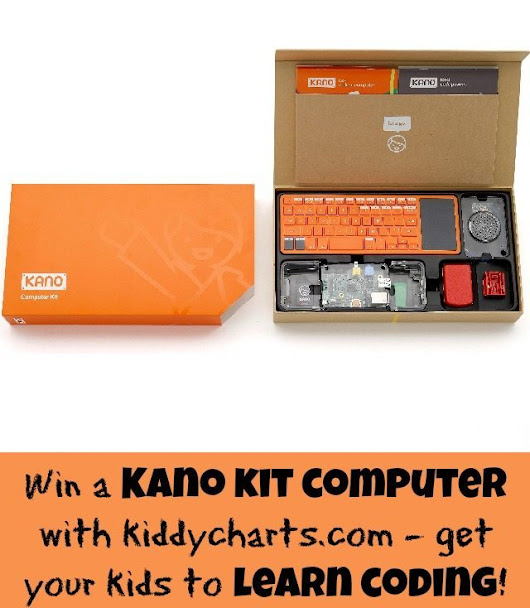 #Win a fantastic Kano kit computer to help teach your kids to code (Worth £120)