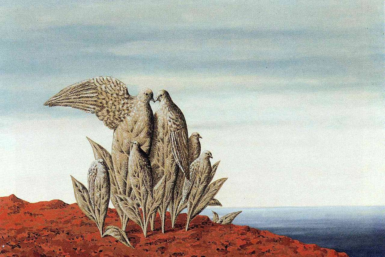 Island of Treasures, 1942 Rene Magritte