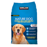 Kirkland Signature Mature Dog Food, Chicken, Rice & Egg Formula - 40 lb bag