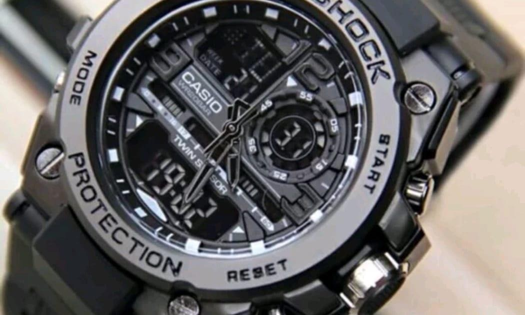 BELI jam tangan pria sporty Casio G Limited edition - dual time - rubber  strap 0bfde1dd96