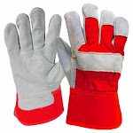 True Grip 8947-26 Men's 40g Thinsulate Lined Leather Palm Winter Glove, Large