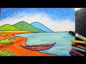 Gambar Pemandangan Gunung Laut