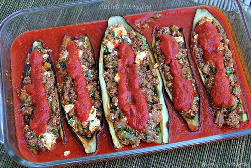 Stuffed Eggplants 1