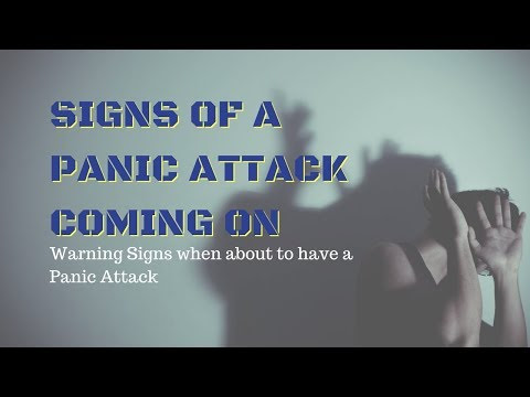Signs Of A Panic Attack Coming On