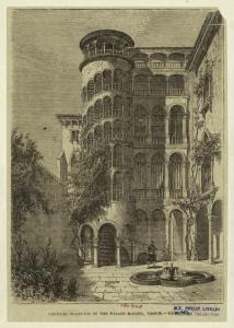 Circular staircase of the Pala... Digital ID: 835843. New York Public Library