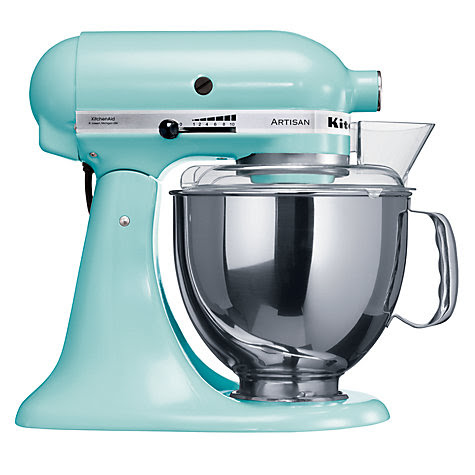 Buy KitchenAid Artisan Stand Mixer, Ice Blue Online at johnlewis.com