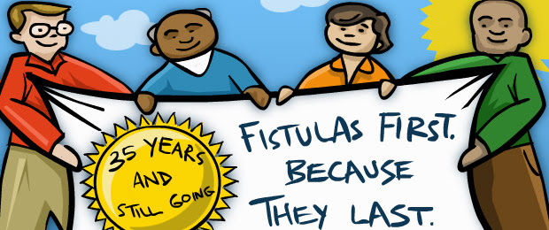 What is an AV fistula and why