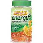 Emergen C Energy Plus, Gummies, Orange Zest - 30 gummies