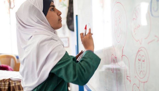 Inspired by Malala, this 15-year-old Syrian is fighting child marriages