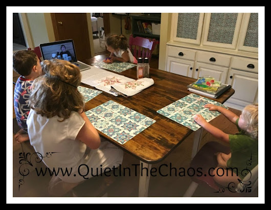 Homeschool Video-Based Art Curriculum {a review} - Quiet In The Chaos