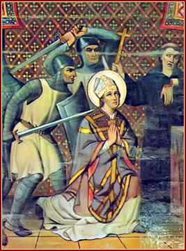 SANTO TOMÁS BECKET, Obispo y Mártir